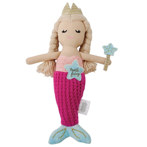 Mud Pie Mermaid Tooth Fairy Doll