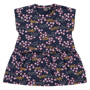 Babyface Baby Girl Dress - Marine