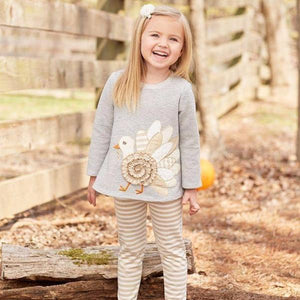 Mud Pie Turkey Set - Bloom Kids Collection - Mud Pie