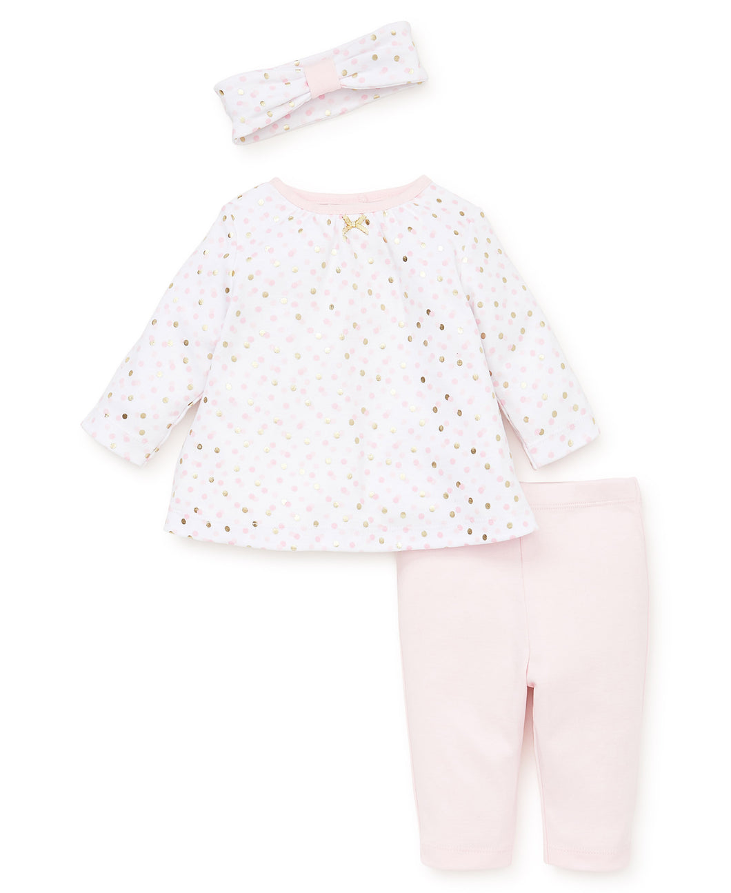 Little Me Shiny Dot Tunic Set - Bloom Kids Collection - Little Me