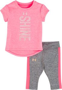 Under Armour Shine Set - Penta Pink - Bloom Kids Collection - Under Armour