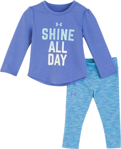 Under Armour Shine All Day Set - Mirror - Bloom Kids Collection - Under Armour