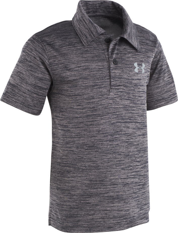 Under Armour Match Play Twist Polo - Black - Bloom Kids Collection - Under Armour