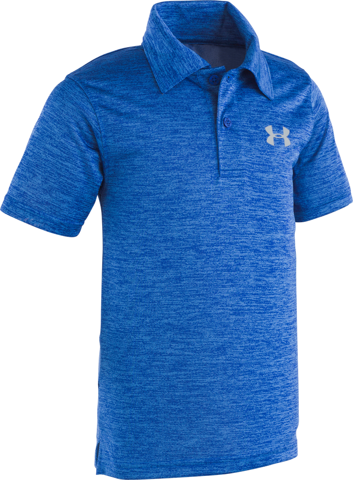 Under Armour Match Play Twist Polo - Royal