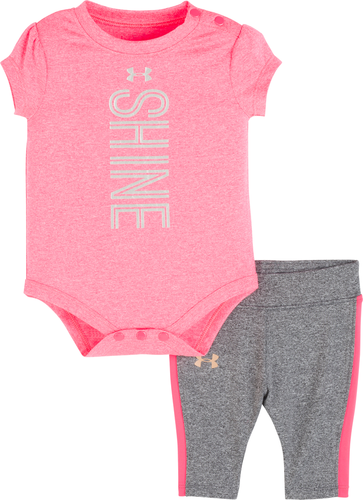Under Armour Infant Shine Set - Penta Pink