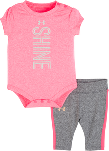 Under Armour Infant Shine Set - Penta Pink - Bloom Kids Collection - Under Armour