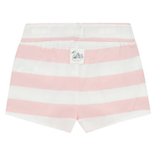 Babyface Girls Striped Short - Blush Pink