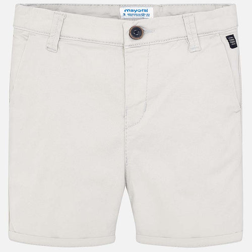 Mayoral Basic Twill Chino Shorts - Marble - Bloom Kids Collection - Mayoral