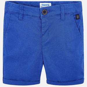 Mayoral Basic Twill Chino Shorts - Ocean - Bloom Kids Collection - Mayoral