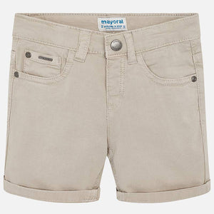 Mayoral Twill 5 Pocket Short - Stone