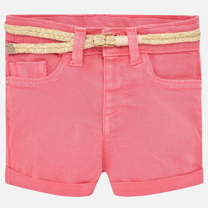 Mayoral Baby Girl Shorts - Geranium - Bloom Kids Collection - Mayoral