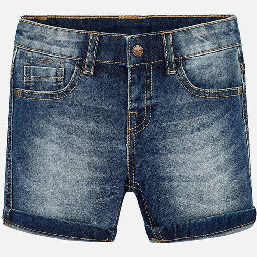 Mayoral Boy Basic Denim Shorts - Bloom Kids Collection - Mayoral