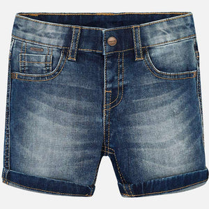 Mayoral Boy Basic Denim Shorts