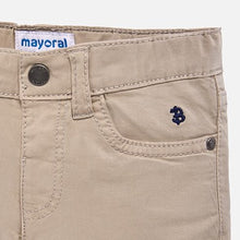 Mayoral Basic Slim Fit Serge Pants - Stone - Bloom Kids Collection - Mayoral