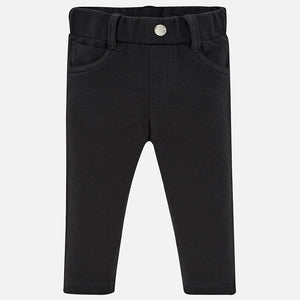 Mayoral Basic Knit Pants - Black - Bloom Kids Collection - Mayoral