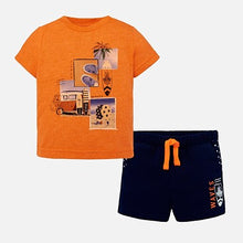 Mayoral Knit Waves Set - Persimmon - Bloom Kids Collection - Mayoral