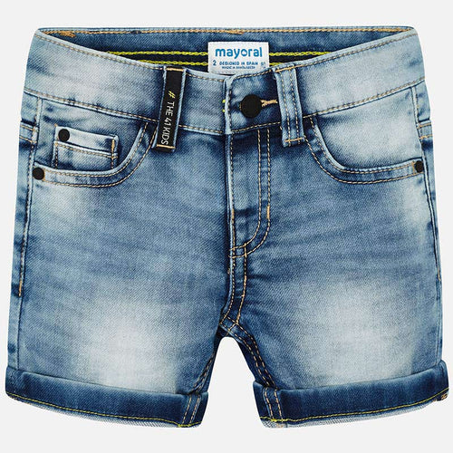 Mayoral Denim Bermuda Shorts for Boy - Bloom Kids Collection - Mayoral