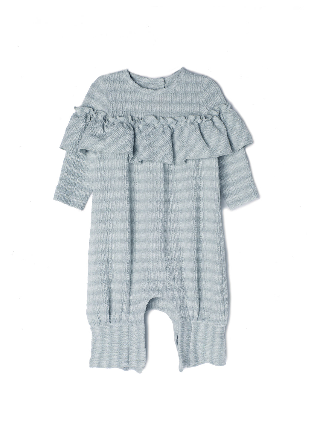 Isobella and Chloe Marley Romper - Grey - Bloom Kids Collection - Isobella and Chloe