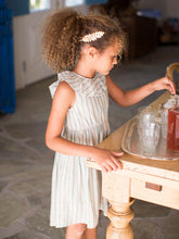 Tea Collection Ruffle Hi-Lo Dress - Marsh - Bloom Kids Collection - Tea Collection