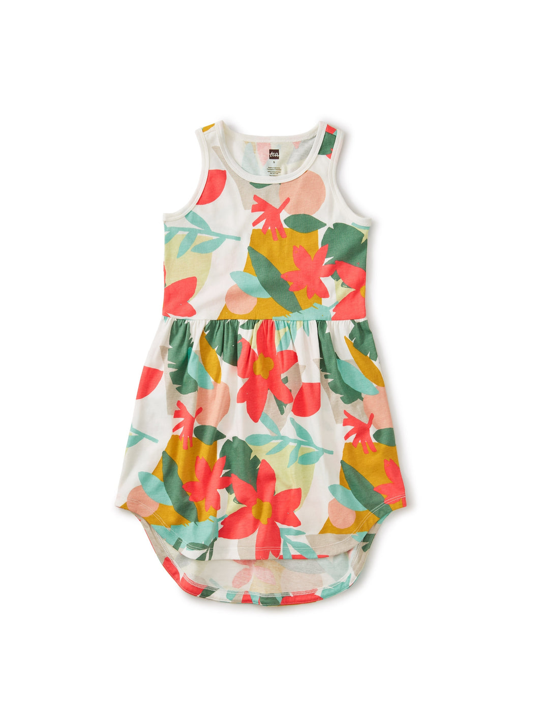 Tea Collection Skirted Tank Dress - Oasis Floral - Bloom Kids Collection - Tea Collection
