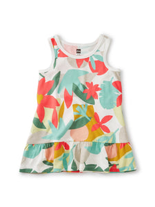 Tea Collection Tank Baby Dress - Oasis Floral - Bloom Kids Collection - Tea Collection