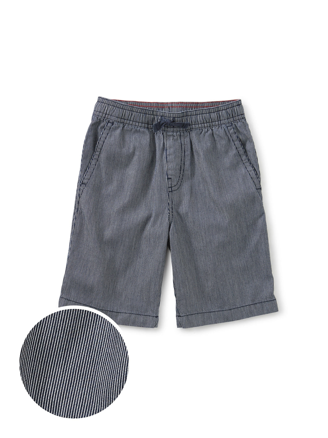 Tea Collection Railroad Stripe Discovery Short