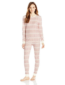 Burt's Bees Women's Fair Isle Tee & Pant Set - Bloom Kids Collection - Burt's Bees
