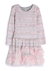 Isobella and Chloe Tickled Pink Dress - Bloom Kids Collection - Isobella & Chloe