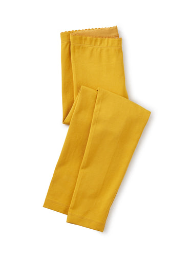 Tea Collection Solid Leggings - Golden Yellow