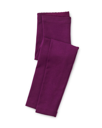 Tea Collection Solid Leggings - Cosmic Berry