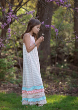 Isobella and Chloe Creamsicle Maxi Dress - Bloom Kids Collection - Isobella & Chloe