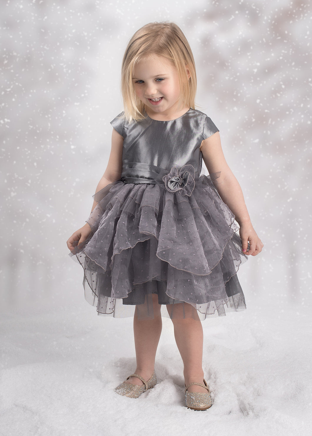 Isobella and Chloe Diamond Dazzler Dress - Bloom Kids Collection - Isobella & Chloe