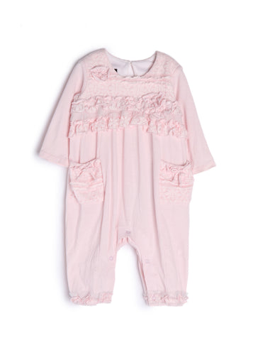Isobella & Chloe Tickled Pink Romper - Bloom Kids Collection - Isobella & Chloe