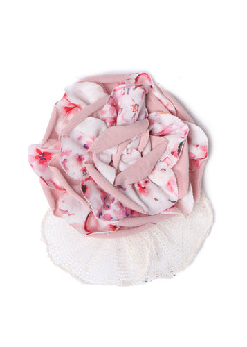 Isobella & Chloe Pink Peony Headband - Bloom Kids Collection - Isobella & Chloe