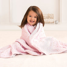 Aden + Anais Classic Dream Blanket - Metallic Primrose - Bloom Kids Collection - Aden + Anais