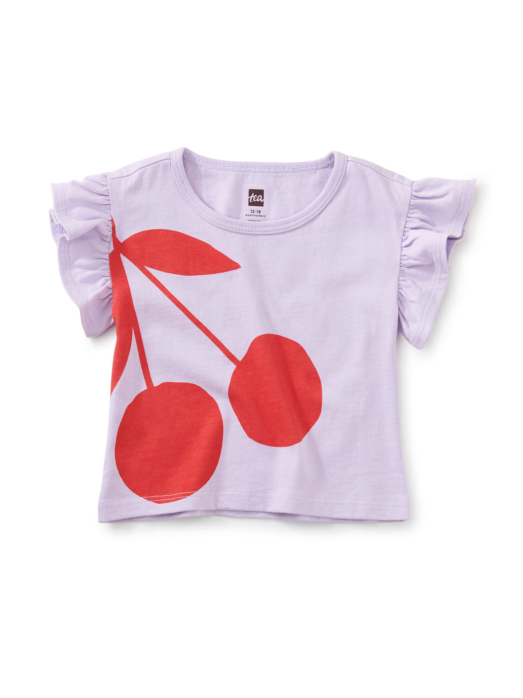 Tea Collection Cherry on Top Flutter Tee - Orion