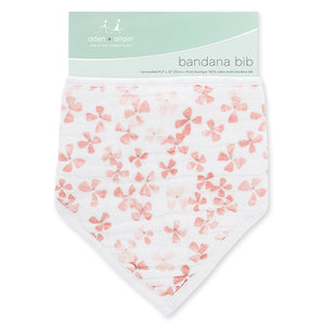Aden + Anais Bandana Bib - Birdsong Blossom - Bloom Kids Collection - Aden + Anais