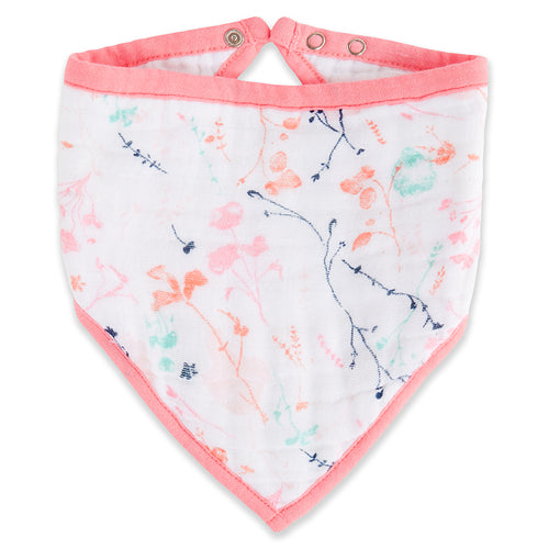 Aden + Anais Bandana Bib - Posy - Bloom Kids Collection - Aden + Anais