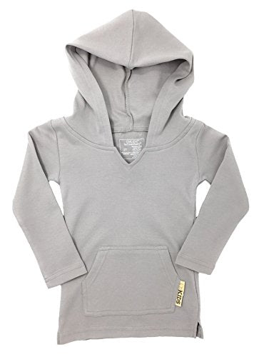 L'ovedbaby Organic Hoodie - Light Gray - Bloom Kids Collection - L'ovedbaby