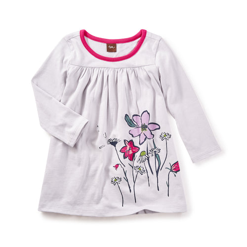 Tea Collection Faileas Graphic Baby Dress Sytle 7F32316 Bloom Kids Collection