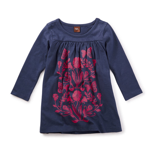Tea Collection Cloudberry Graphic Dress - Bloom Kids Collection - Tea Collection