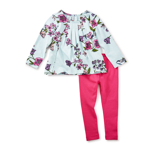 Tea Collection Glenna Baby Outfit - Bloom Kids Collection - Tea Collection