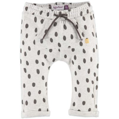 Babyface Baby Girl Sweatpants - Cool Grey Melee - Bloom Kids Collection - Babyface