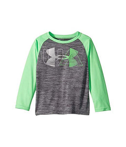 Under Armour Linear Logo Twist Raglan - Steel