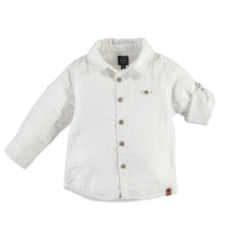 Babyface Boys Shirt - Off White - Bloom Kids Collection - Babyface