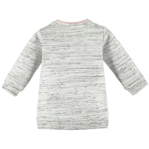Babyface Baby Girl Cloud Dress - Creme Melee - Bloom Kids Collection - Babyface