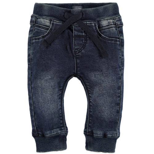 Babyface Baby Boy Jogg Jeans - Deep Blue Denim