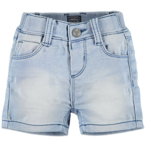 Babyface Baby Boys Jogg Jean Shorts  - Blue Denim - Bloom Kids Collection - Babyface