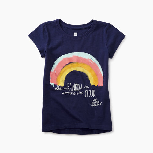 Tea Collection Maya Angelou Rainbow Tee