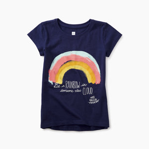 Tea Collection Maya Angelou Rainbow Tee - Bloom Kids Collection - Tea Collection